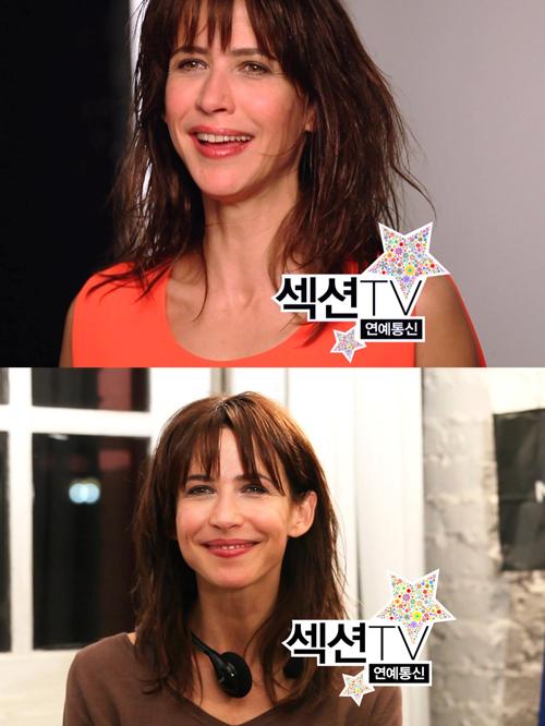 """<섹션TV> 소피 마르소, """"한국 영화에 출연하고 싶다"""""""