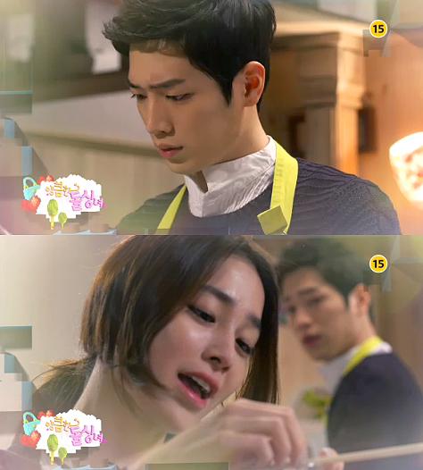 <앙큼한 돌싱녀> 서강준, 주상욱 전처의 정체 알았다…슬픈 얼굴 '당황'
