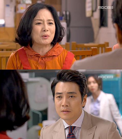 """<앙큼한 돌싱녀> 주상욱, """"너넨 끝난 사이"""" 장모 말에 슬픈 얼굴"""
