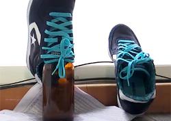 여름철 '젖은 신발' 빨리 말리는 요령