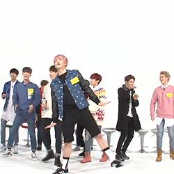 [움짤] <주간아이돌> 업텐션, 엑소부터 소녀시대까지 완벽 커버댄스!