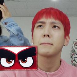 <송지효의 뷰티뷰> B.A.P 힘찬, 셀프메이크업 공개! 'OOOOO' 닮은 꼴?