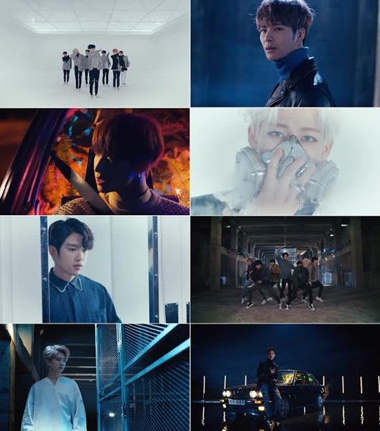 그룹 갓세븐 신곡 '네버 에버' 뮤직비디오. 그룹 갓세븐은 신곡 '네버 에버'로 진정한 사랑을 만나 결실을 맺는 이야기를 그려 '플라이트 로그' 시리즈를 완성했다. /'네버 에버' MV 캡처