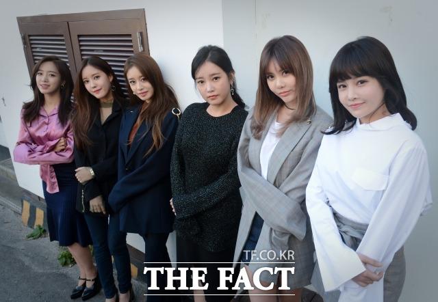 완전체로서는 마지막 앨범. 데뷔 9년 차인 그룹 티아라는 멤버 간 남다른 우정, 그리고 활발한 활동과 함께 장수 걸그룹으로 거듭났다. /이효균 기자