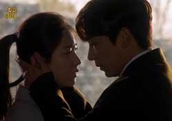 """""""사랑해!"""" 김지한, 상견례 가는 류효영 붙잡고 '애절한 키스'"""