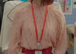[4회_하지나] 사랑스러운 핑크 컬러 '블라우스'
