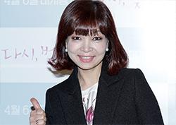"""[포토] <다시, 벚꽃> VIP 시사회 원미연 """"다시 벚꽃 화이팅!"""""""