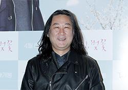 """[포토] <다시, 벚꽃> VIP 시사회 김도균 """"올블랙 가죽으로 록 스피릿"""""""