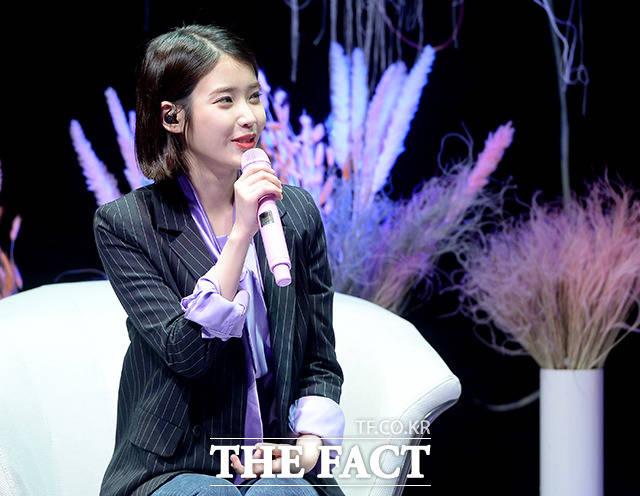"""스물 다섯 아이유, '팔레트' 첫 공개 """"전부 제 이야기"""""""