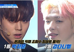 <프로듀스101 시즌2> '어벤져스' 조, '상남자' 그룹배틀 공연 공개