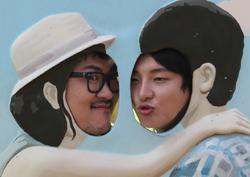 <1박 2일> 데프콘-윤시윤, 커플 인증샷 공개! '깜찍 혹은 혹성탈출'