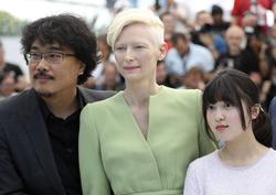 [칸 영화제] 사진으로 보는 70회 칸 영화제 한국 영화인들 - 박찬욱 감독과 <옥자>팀
