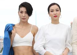 [칸 영화제] 사진으로 보는 70회 칸 영화제 한국 영화인들 - 정병길 감독과 <악녀>팀