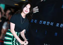 [포토] <리얼> VIP 시사회 걸스데이 유라, '입장부터 시선집중'