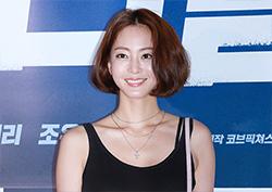 [포토] <리얼> VIP 시사회 한예슬, '삼각김밥 머리에도 빛이나네'