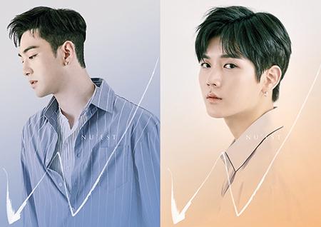 뉴이스트W, '백호-렌' 개인 프로필 공개! '애절한 눈빛'