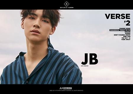 JJ Project, JB 비주얼 티저 공개! '물오른 남성미'