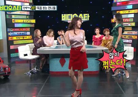 """김정민의 헬시 포즈란? """"무심하게 툭~"""""""
