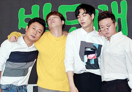 [포토] <밤도깨비> 이수근-박성광-이홍기-김종현, '단체 드르렁'
