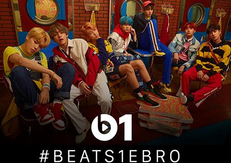 방탄소년단 랩몬스터, 비츠원(beats1)과 단독 인터뷰 '신보 집중 조명'