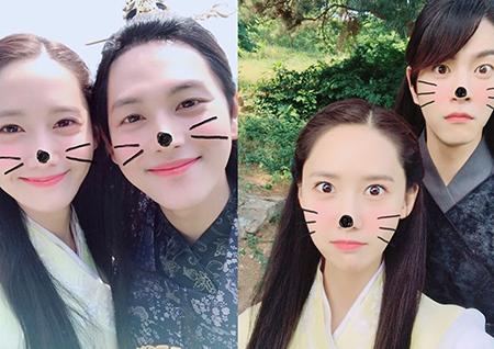 <왕은 사랑한다> 임윤아, '종영 기념' 임시완-홍종현과 함께한 훈훈 인증샷 공개