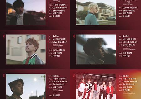 B1A4, 'Rollin'' 하이라이트 메들리 영상 공개! '깊어진 분위기+중독성 200%'
