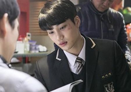 <안단테> EXO 카이, 뜨거운 연기 열정 '눈부신 잘생김은 옵션'