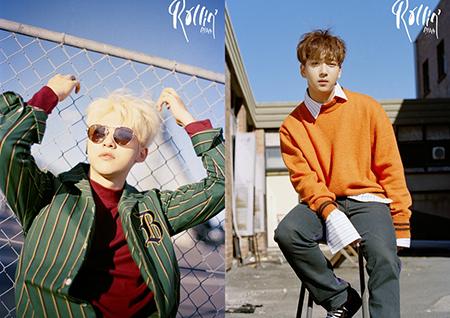 B1A4, 호주 배경으로 '청량함 가득' 'Rollin' 개인 포스터 공개