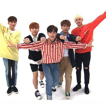<주간아이돌> B1A4, 승부욕 폭발하는 미션 전쟁 예고