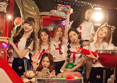 '준비된 아이돌' 걸그룹 해시태그, 해외 10개국 이상 팬 페이지 생성!