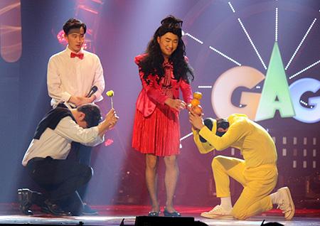 <개그콘서트> '대화가 필요해 1987' 장동민, '핑크걸' 변신! 비주얼 쇼크