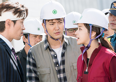 """<변혁의 사랑> """"오늘부터 1일"""" 최시원X강소라, 공사장 발칵 뒤집었다!"""