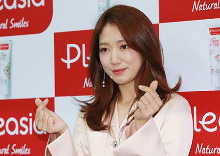 [포토] 박신혜, 반짝이는 하트 두개