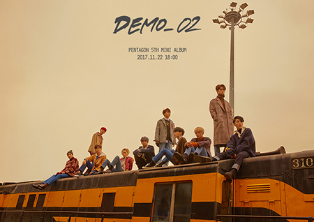 '컴백 D-2' 펜타곤, 전곡 자작곡 앨범 'DEMO_02' 티저 공개.. 기대감 UP