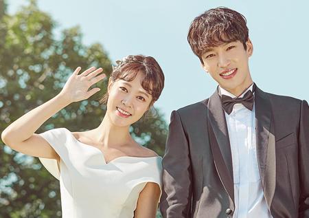 """<전생에 웬수들> """"결혼? 웬수끼리 왜이래""""  최윤영♥구원, 궁금증 유발 포스터 공개!"""