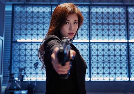 최초의 여성 킬러 '하지원' <맨헌트> 아시아 프로모션 투어 시작!