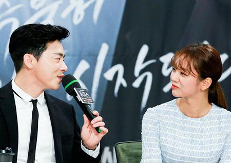 """<투깝스> 조정석-혜리, """"14살 나이 차? 동안이라 괜찮다."""""""