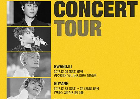 '20주년' 젝스키스, 전국투어 콘서트 개최! 멤버들의 리얼 영상 전격 공개!
