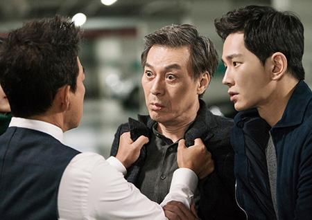 <밥차남> 이재룡, 김갑수 멱살잡이 포착! 파란의 '父친 전쟁' 발발!