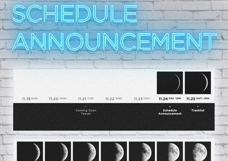 DAY6, 12월 6일 정규 2집 'MOONRISE' 발매! 역대급 '컴백' 콘텐츠 예고!