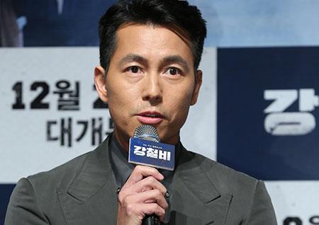 """<강철비> 정우성, 꿀케미 비결에 대해 """"곽도원이 나를 사랑하는 것 같다"""""""