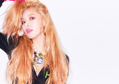 현아, 땡스싱글 'Lip & Hip' 중국 최대 음원사이트 QQ뮤직 1위