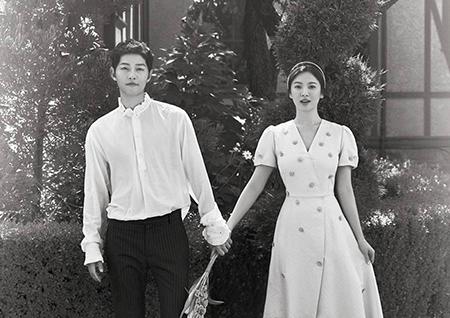 송중기-송혜교, 신작 없이도 2017년을 빛낸 탤런트 1·3위 차지! 2위는 공유