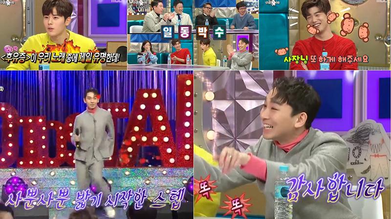 <라디오스타> 김호영, 혀(?) 찌르는 레전드 연예인 추가...동시간대 1위