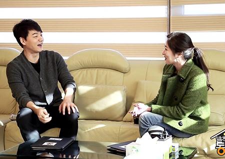 <발칙한 동거> 김승수X최정원, 14년 만에 재회! 핑크빛 동거 첫 만남 포착