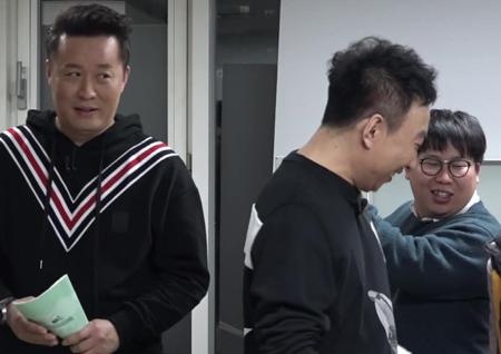 <무한도전> '막내' 박명수-정준하, '선배' 양세형-박나래 앞에서 개그 대결!