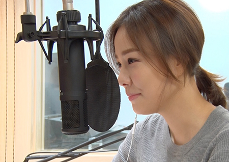 휴먼다큐 사랑+ 손태영, 국내 위기아동 지원 위해 목소리 재능 기부