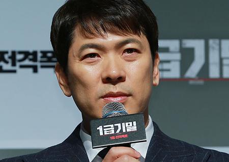 """김상경 """"방산비리에 대해 다룬 한국영화로는 최초일 것"""""""