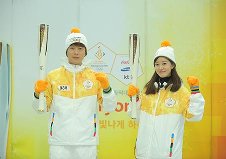 MBC 김나진-이재은-김초롱 캐스터, '평창올림픽' 중계부터 성화 봉송까지!