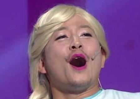 <개그콘서트> 김준호, '춘리-엘사-비욘세-강동원'까지...열일 '패러디' 폭소만발